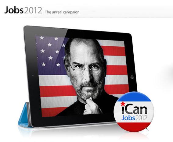 Steve Jobs President iPad 2
