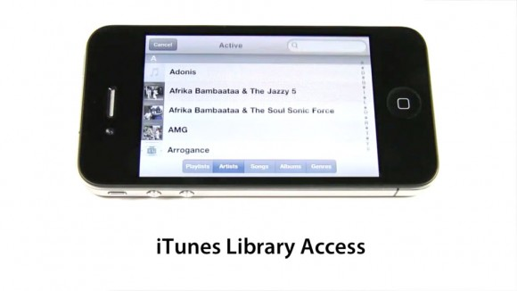 access computer itunes on phone