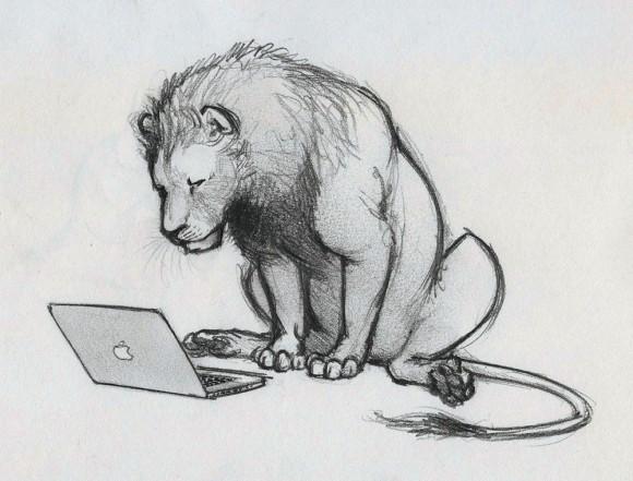 Mac OS X Lion on Mac
