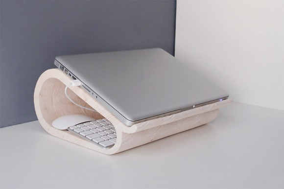 MacBook Pro Wood Laptop Stand, Dopludo Collective