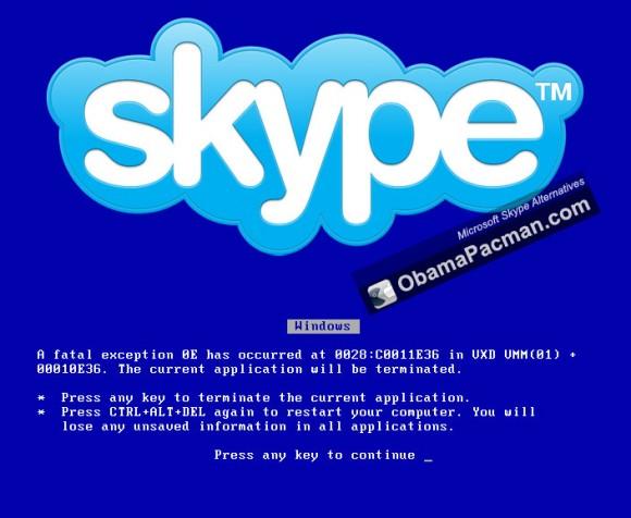 Microsoft Skype BSOD