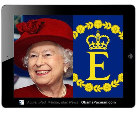 Queen Elizabeth II iPad 2