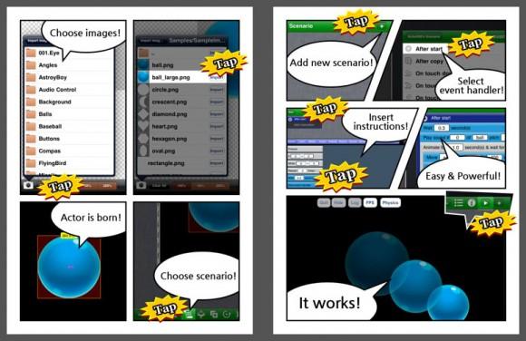 AppCraftHD Tutorial comic 2