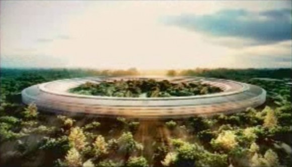 Apple Cupertino Mothership Campus Architectural Plans