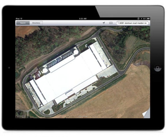 Apple North Carolina data center address 6081 startown road