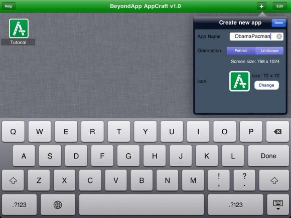 Create iPad App Prototype AppCraft HD