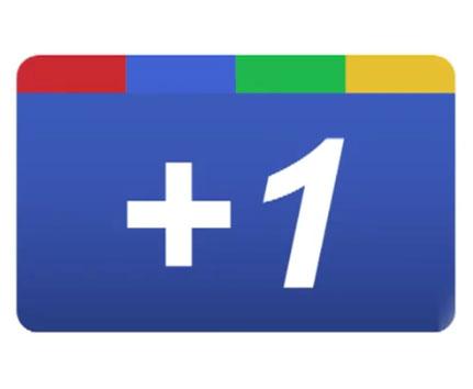 Google +1 Button for Websites Logo