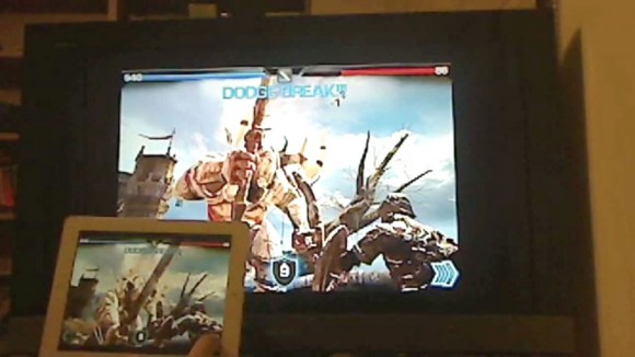Infinity Blade, iPad Airplay Mirroring