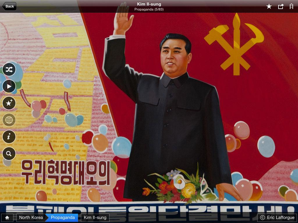 Obamapacman Kim Il Sung North Korea Propaganda Ipad Eric Lafforgue