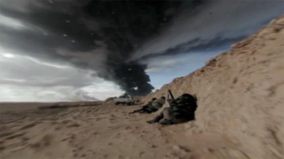 Libya war zone