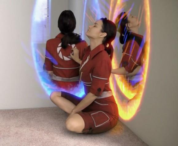 Portal 2 Fan Film, Outside Aperture