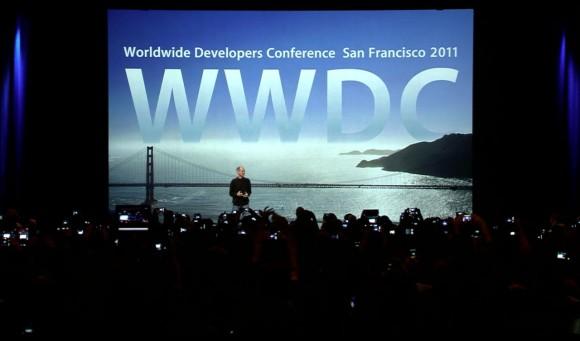 Steve Jobs WWDC 2011 Apple iCloud Keynote