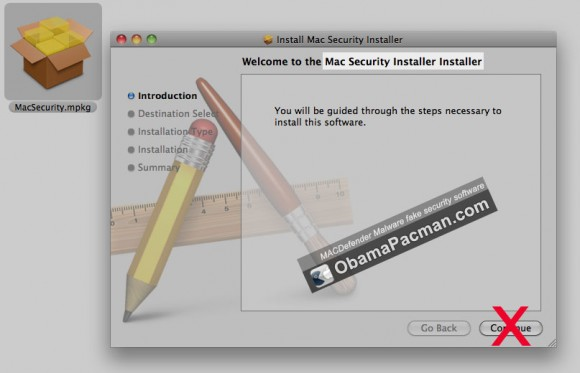 Trojan MacDefender Mac Malware
