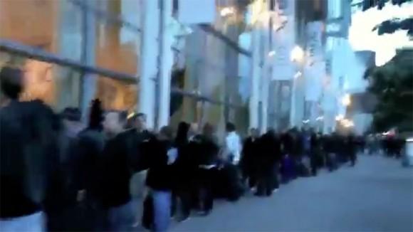 WWDC 2011 iCloud Long Lines