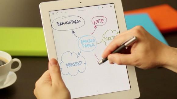 Wacom iPad Bamboo Paper sketchbook app