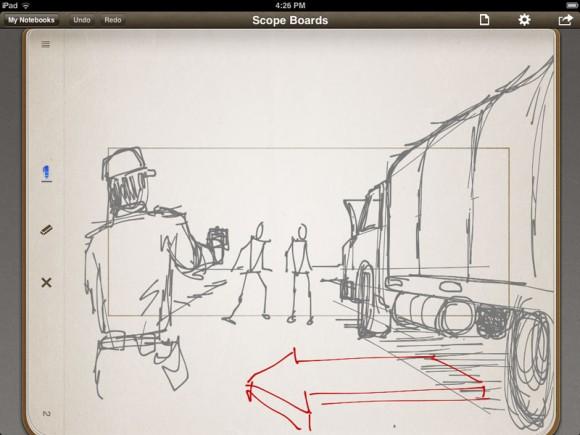 iPad Storyboard Stu Maschwitz