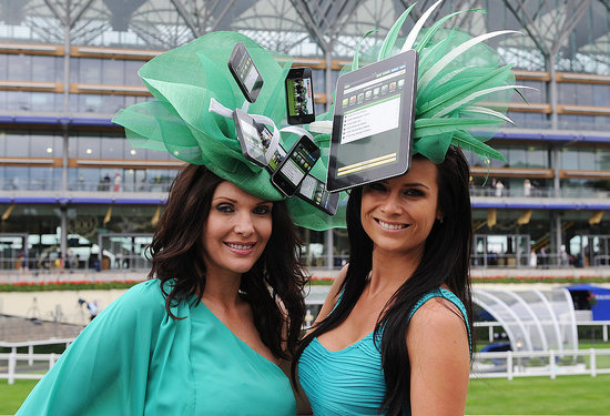 iPad iPhone Hat Royal Ascot