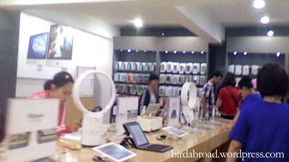 Fake Apple Store In China Secret Video Obama Pacman