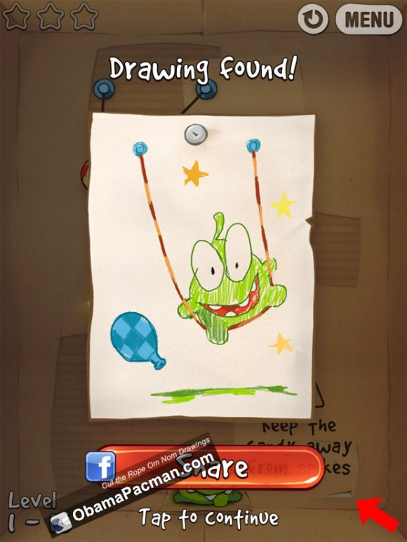 Find Cut the Rope Om Nom Drawings
