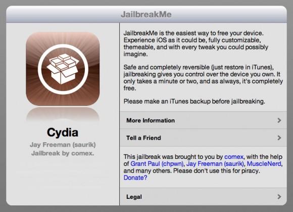 Jailbreak iOS 4.3.3 iPad 2