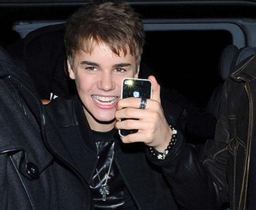 Justin Bieber iPhone
