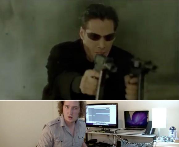 Matrix Gun Fight A capella, Matt Mulholland