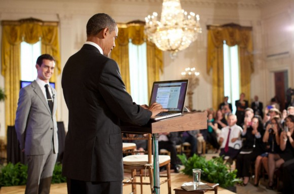 President Obama Mac Twitter Town Hall