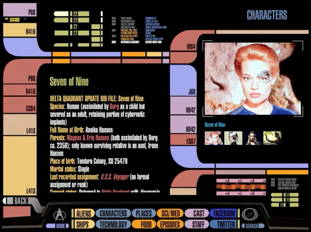 Official Star Trek Padd on iPad | Obama Pacman