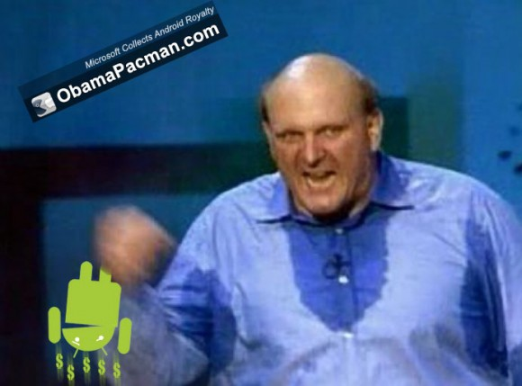 Steve Ballmer Collects Android Royalty