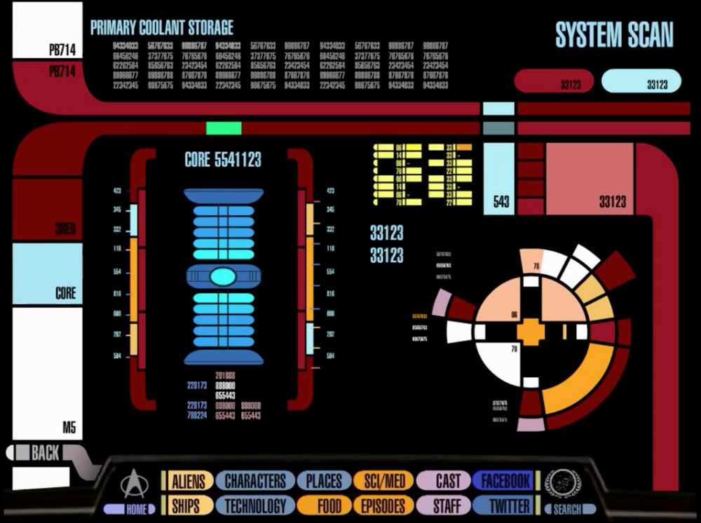 Obamapacman System Scan Official Star Trek Padd Ipad App