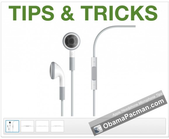 Apple Headphone Microphone Tips