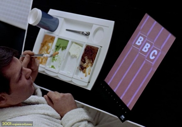 BBC TV tablet, 2001 Space Odyssey