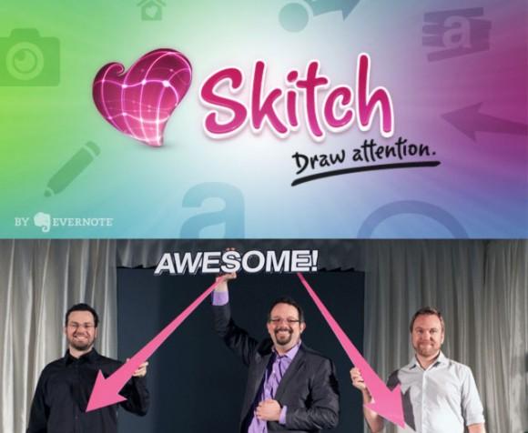 Evernote Buys Skitch