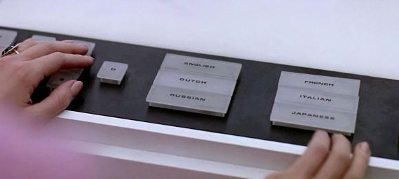 Hardware key input, 2001 Space Odyssey