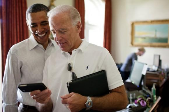 President Barack Obama VP Joe Biden Shares iPhone App