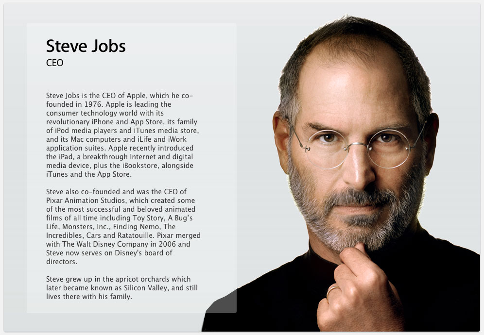 short biography of steve jobs pdf
