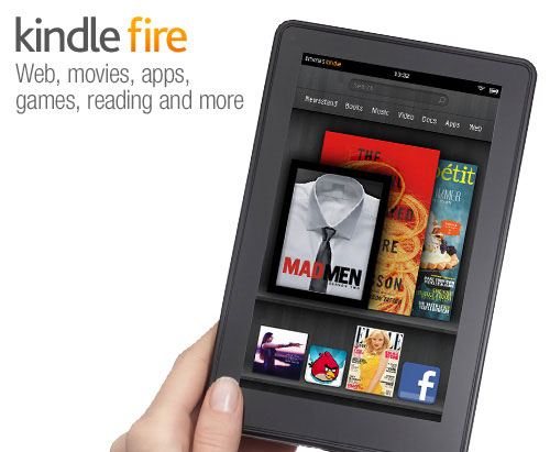 Amazon Kindle Fire 7-inch Android tablet