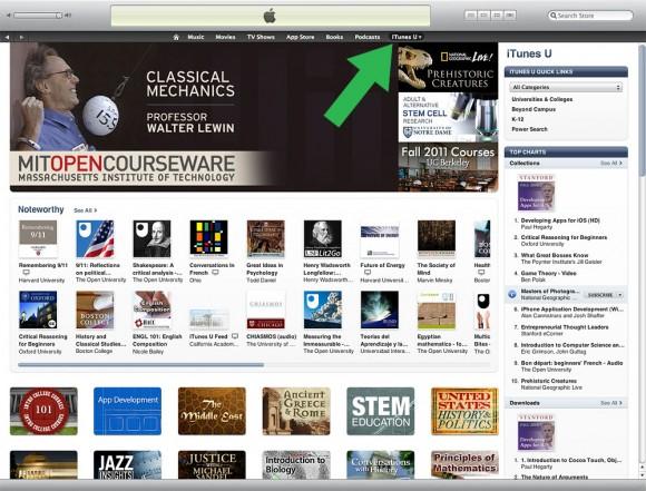 Apple iTunes University