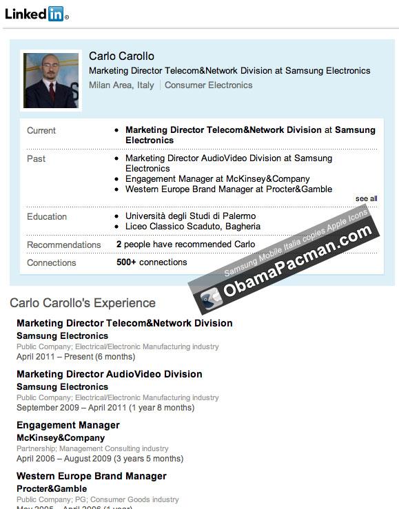 Carlo Carollo - VP of IT & Mobile Communication Italy ...