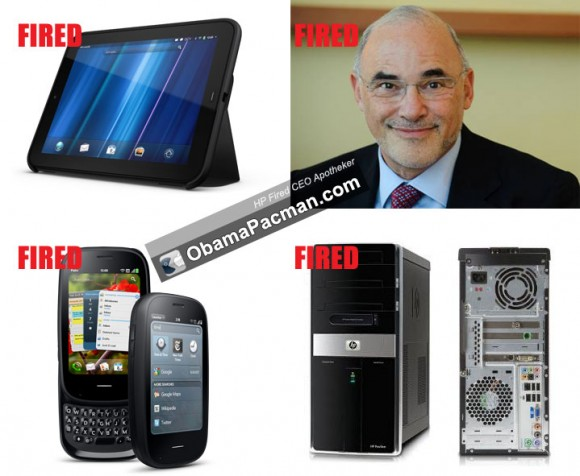 Fired: HP CEO Leo Apotheker, TouchPad, Palm Pre, PC