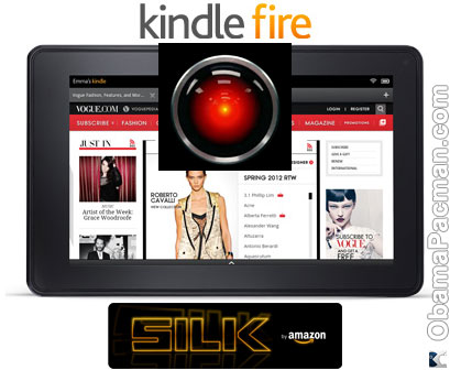 Kindle Fire Amazon Silk Browser Hal 9000
