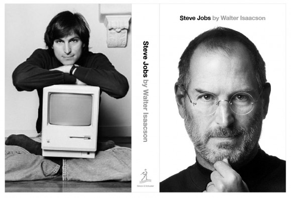 Steve Jobs Biography Front Back Cover