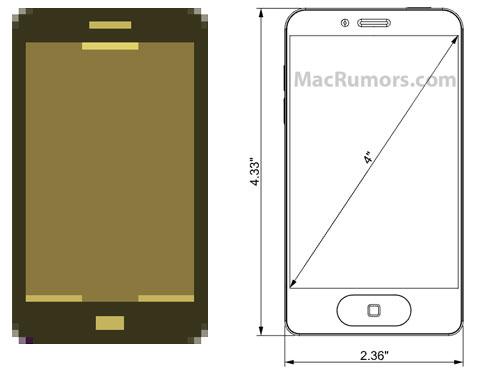 iPhone 5 concept vs. Apple iPhoto icon