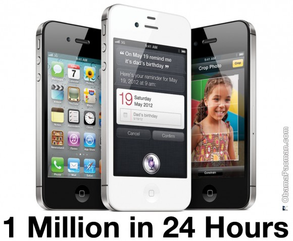 2011 iPhone 4S pre-order sales numbers