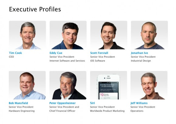 Apple named Siri Senior VP