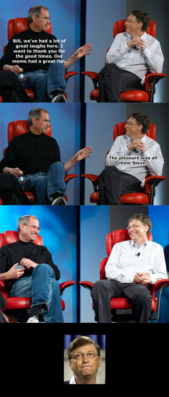 Bill Gates on Steve Jobs death
