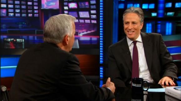 John Stewart interviews Steve Jobs book author