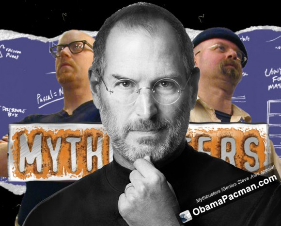 Mythbusters iGenius Steve Jobs documentary