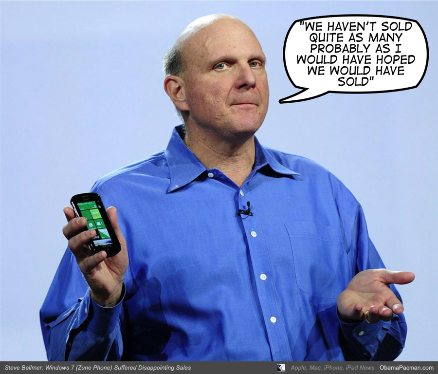 Ballmer, Microsoft Chief Executive Officer, talked about Windows Phone ...