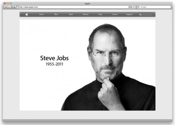 Steve Jobs Apple home page 1955-2011
